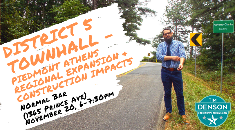 District 5 Townhall - PARMC expansion & construction impacts
