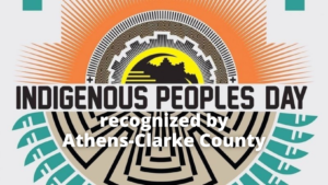 Athens, Georgia recognizes Indigenous Peoples Day